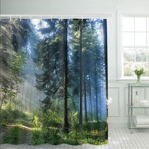 Other - Forest Sunlight Woods Shower Curtain